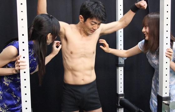 くすぐられたい!  チャイナドレス美女の関口真琴/藤井未来