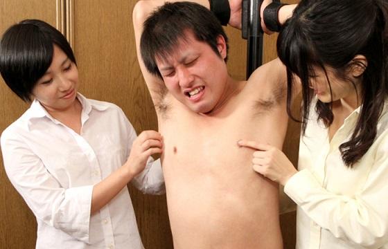 痴女OLたちのくすぐり男受け! Vol.2